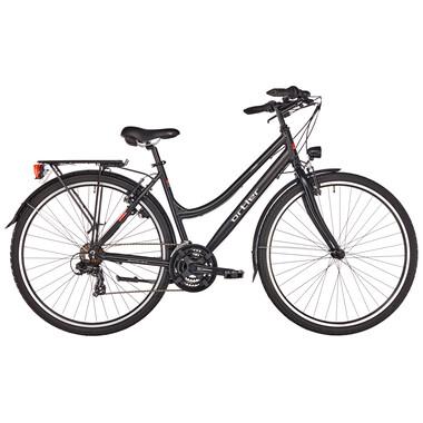 Vélo de Voyage ORTLER LINDAU TRAPEZ Femme Noir 2019